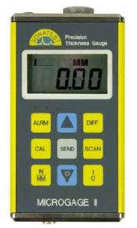 Поверка ультразвукового толщиномера Microgage II