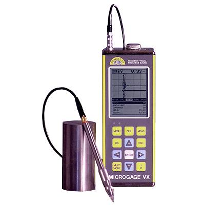 Поверка ультразвукового толщиномера Microgage VX