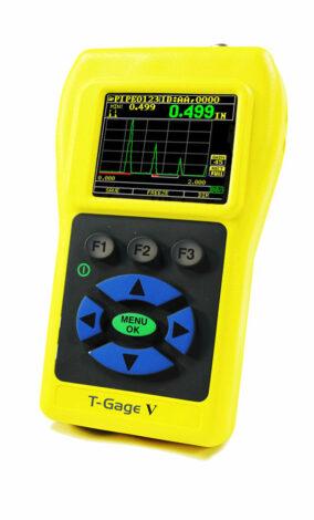 Поверка ультразвукового толщиномера T-Gage V