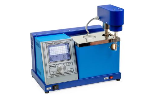 Аттестация аппарата Кристалл-20Э для определения температур кристаллизации и замерзания