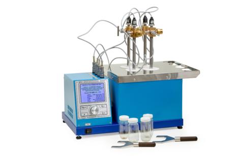Аттестация аппарата ЛинтеЛ АИП-21 для определения химической стабильности автомобильных бензинов