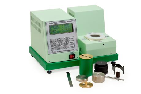 Аттестация аппарата ЛинтеЛ АКС–20 для определения коллоидной стабильности смазок