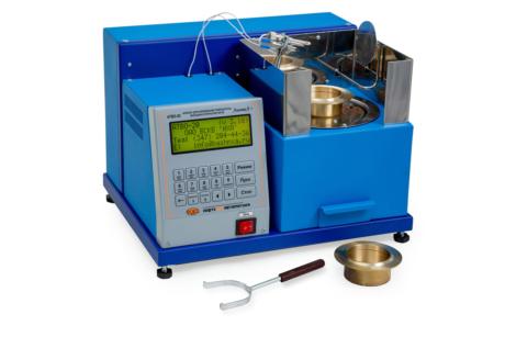 Аттестация аппарата ЛинтеЛ АТВО-20 для определения температуры вспышки в открытом тигле