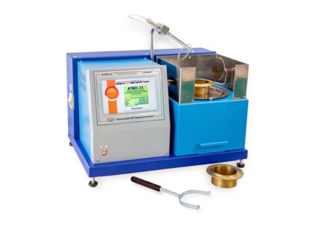 Аттестация аппарата ЛинтеЛ АТВО-21 для определения температуры вспышки в открытом тигле