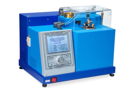Аттестация аппарата ЛинтеЛ АТВТ-20 для определения температуры вспышки в закрытом тигле Тага