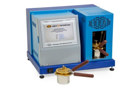 Аттестация аппарата ЛинтеЛ АТВ-21 для определения температуры вспышки в закрытом тигле