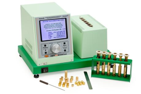 Аттестация аппарата ЛинтеЛ КАПЛЯ-20У для определения температуры каплепадения нефтепродуктов