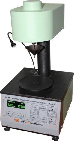 Аттестация аппарата ЛинтеЛ ПН–10МК для определения пенетрации пластичных смазок микроконусами