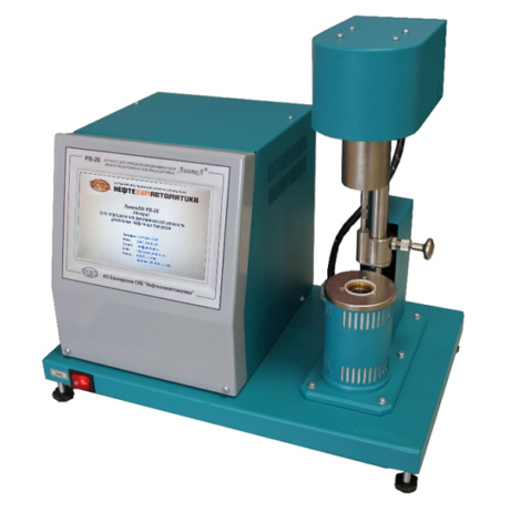 Аттестация аппарата для определения динамической вязкости дорожных битумов ЛинтеЛ РВ-20