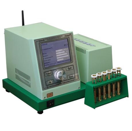 Аттестация аппарата ЛинтеЛ КАПЛЯ-20И для определения температуры каплепадения нефтепродуктов
