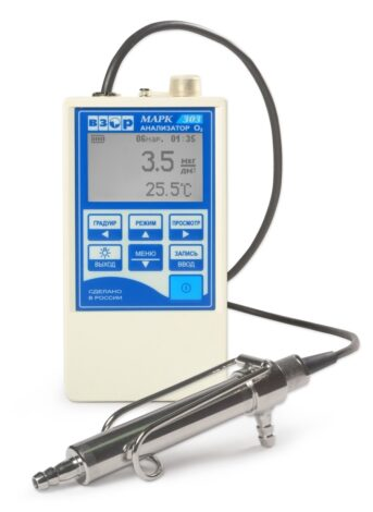 Поверка кислородомера МАРК-303Т