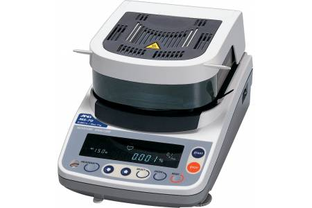 Поверка анализатора влажности MS-70