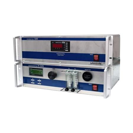 Поверка хемилюминесцентный анализатор (Н-320А) NH3, NO и NO2 в атмосферном воздухе