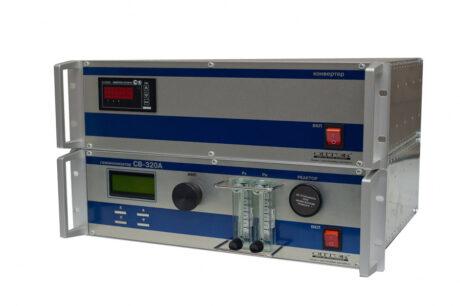 Поверка хемилюминесцентного газоанализатора (СВ-320A-1-H2S, SO2) H2S и SO2 в атмосферном воздухе