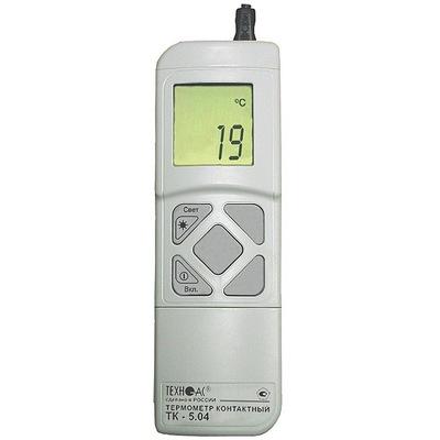 Поверка термометра ТК-5.04