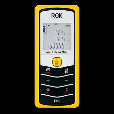 Поверка дальномера лазерного RGK D60