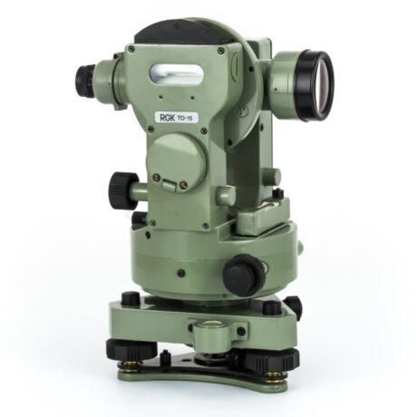 Поверка теодолита оптического RGK TO-15