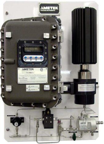 Поверка анализатора температуры точки росы по углеводородам 241CE II