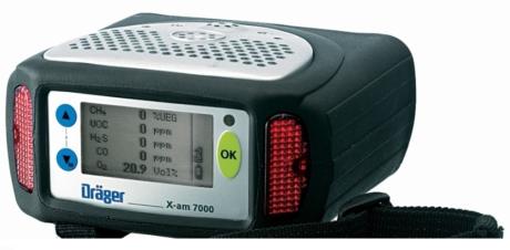 Поверка газоанализатора DRÄGER X-AM 7000 цена