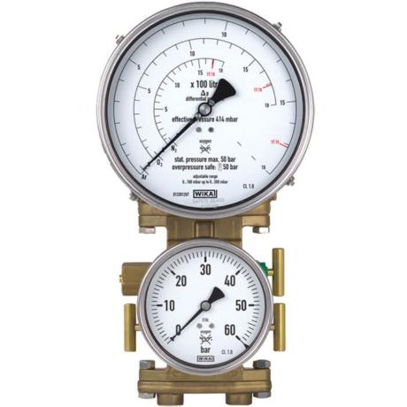 Поверка манометров дифференциального давления модели модели 712.15.160, 732.15.160 купить