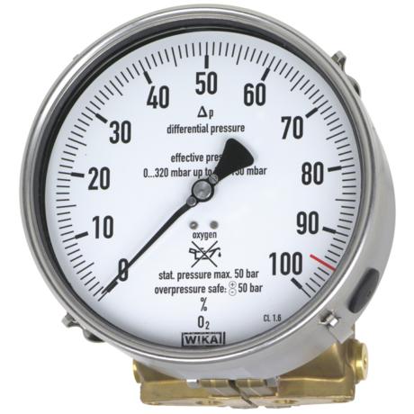 Поверка манометров дифференциального давления модели модели 712.15.160, 732.15.160