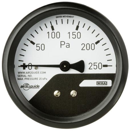 Поверка манометров дифференциального давления A2G-mini