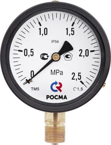Поверка манометров с электроконтактной приставкой IP 54 Тип ТМ (ТВ, ТМВ), серия 10