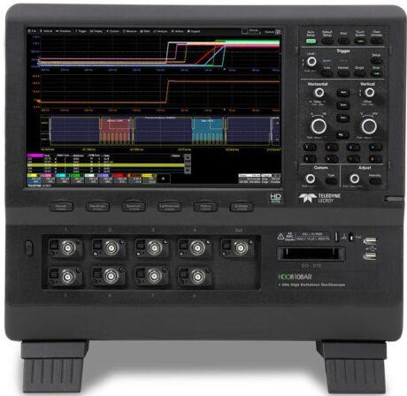 Поверка осциллографа HDO6000AR-MS
