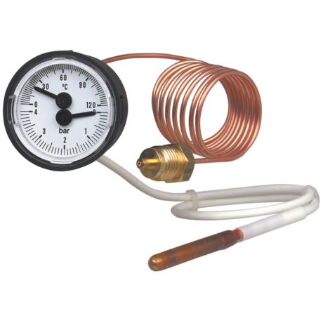 Поверка термоманометра MFT