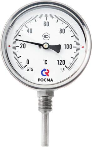 Поверка термометров биметаллических специальных (с пружиной) Тип БТ, серия 220