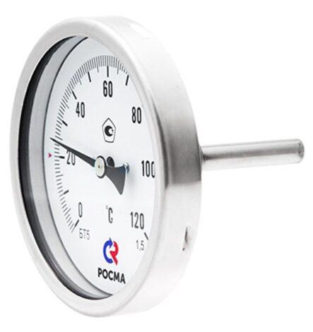 Поверка термометров коррозионностойких (осевое присоединение) Тип БТ, серия 220