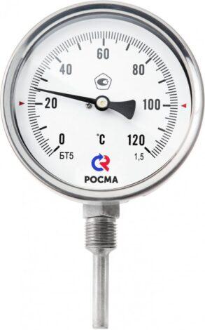 Поверка термометров коррозионностойких (радиальное присоединение) Тип БТ, серия 220