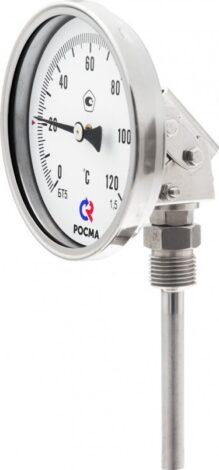 Поверка термометров коррозионностойких (универсальное присоединение) Тип БТ, серия 220