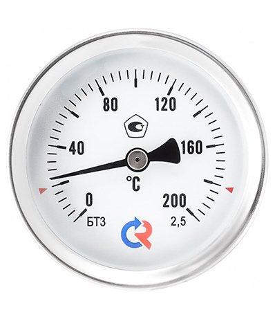Поверка термометров общетехнического (осевое присоединение) Тип БТ, серия 211