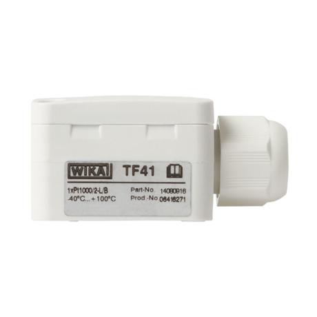 Поверка термопреобразователя Модель TF41 (термометра сопротивления)