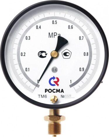 Поверка манометров точных измерений Тип ТМ (ТМВ) — МТИ, серия 10