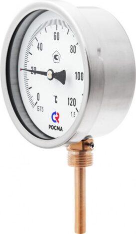 термометров общетехнического (радиальное присоединение) Тип БТ, серия 211