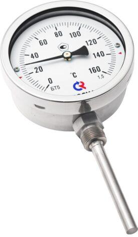 термометры биметаллические специальных (с пружиной) Тип БТ, серия 220