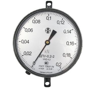 Поверка динамометра ДПУ-0.2-2 5030