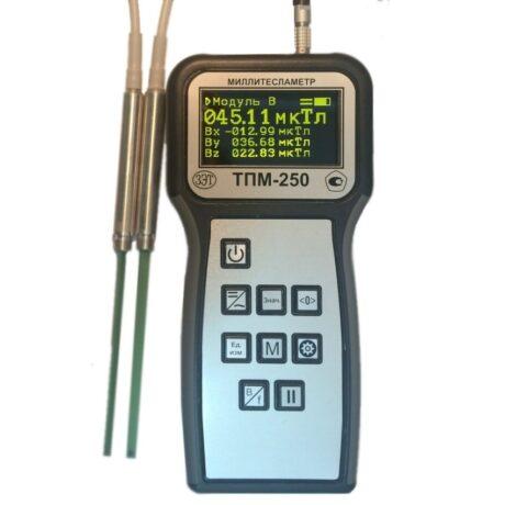 Поверка миллитесламетра ТПМ-250