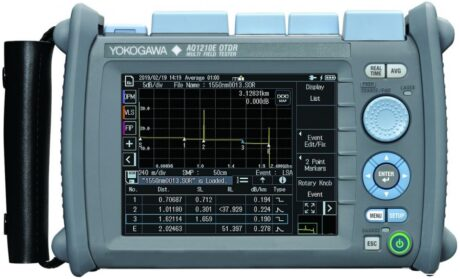 Поверка рефлектометра оптического yokogawa AQ1210