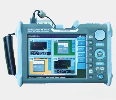 Поверка рефлектометра оптического yokogawa AQ7270