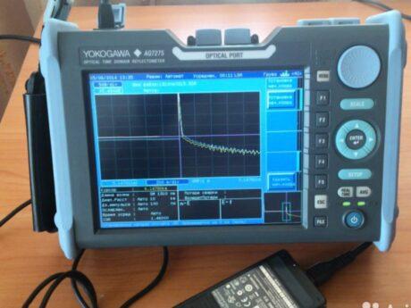 Рефлектометр оптический yokogawa AQ7275 поверка