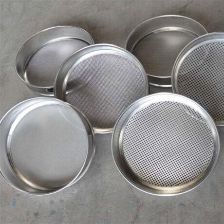Калибровка комплекта сит для минерального порошка с квадратной ячейкой по методике Superpave