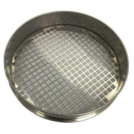 Комплект сит для минерального порошка с квадратной ячейкой калибровка