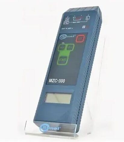 Поверка измерителя параметров цепей MZC-303