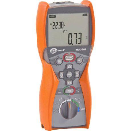 Поверка измерителя параметров цепей MZC-304