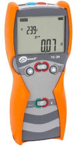 Поверка измерителя параметров цепей TC-20