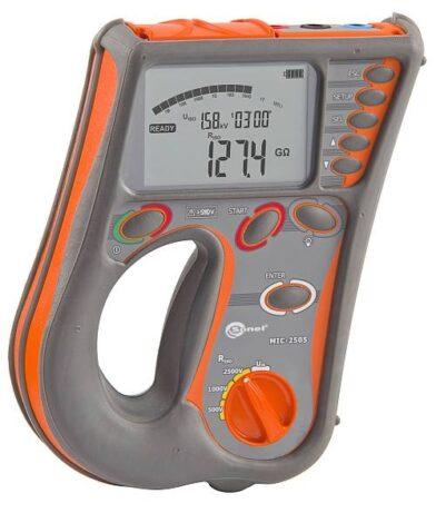Поверка измерителя параметров электроизоляции MIC-2505
