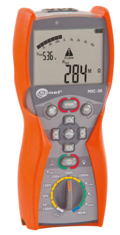 Поверка измерителя параметров электроизоляции MIC-30